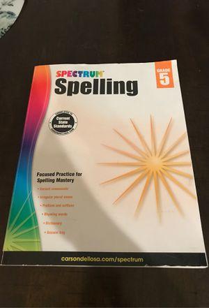 Spectrum spelling grade 5 for Sale in Riverside, CA