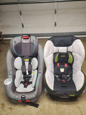 Graco & Evenflo Car Seats $60 each. for Sale in San Lorenzo, CA
