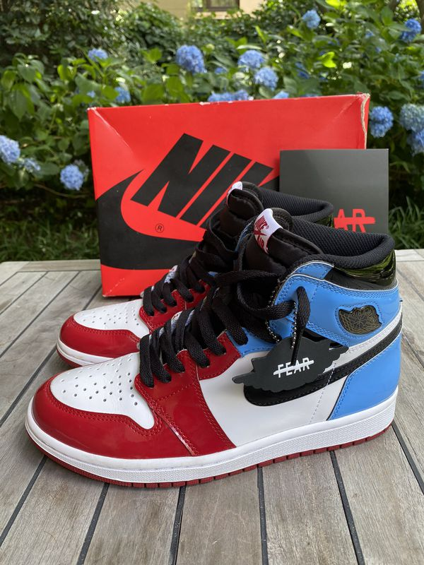 Nike Jordan 1 High Unc Chicago fearless size 8