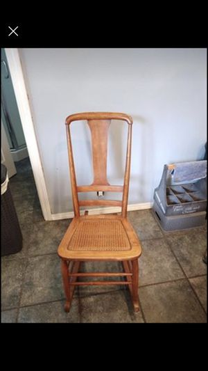 Antique wicker rocking chair for Sale in Vancouver, WA