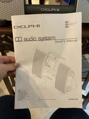 Delphi stereo system with XM radio for Sale in Murfreesboro, TN