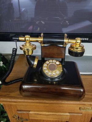 Deco Tel Real Wood Rotary Telephone for Sale in Mesa, AZ