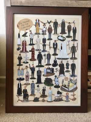 Collectors Horror Poster (framed) for Sale in Atascadero, CA