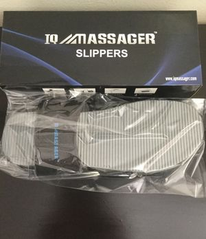 IQ Technologies Massager Slippers - New in Box for Sale in Brooklyn, NY