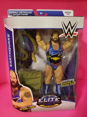 WWE Elite Wrestling Figures Earthquake for Sale in Highland, CA