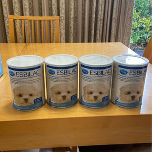 ESBAC Puppy milk replacer 4 Pack for Sale in La Habra, CA