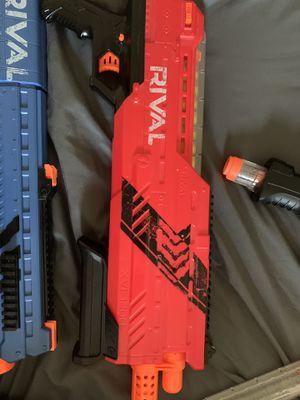 3 nerf Rival guns bundle for Sale in Fort Belvoir, VA