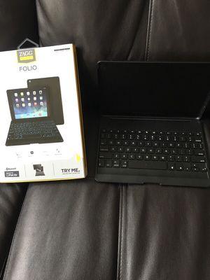 Zagg Keys Folio Bluetooth iPad Air case for Sale in Suffolk, VA