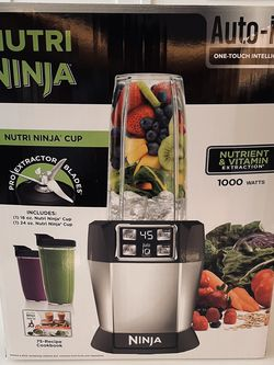 New Ninja Nutri 1000 Watt Auto-IQ Personal Blender for Sale in Washington,  DC