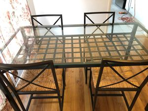 METAL DINING TABLE FOR SALE for Sale in Portland, OR