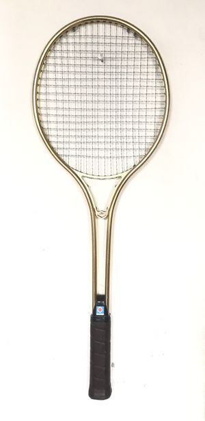 RARE VINTAGE Chemold Gold Tennis Racket for Sale in The Bronx, NY