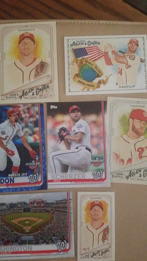 46 Washing Nationals/90s Expos baseball cards for Sale in Riverside, CA
