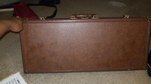 Brown leather alto saxophone case for Sale in Valley View, OH