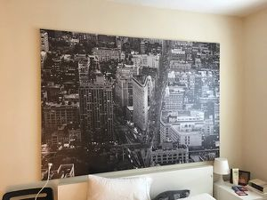 Ikea New York Flatiron building canvas wall art for Sale in Portland, OR