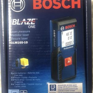 Bosch BLAZE ONE 165 ft. Laser Measurer with Auto Square Footage Detection for Sale in Milwaukie, OR