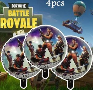 New 12 Inch Fortnite Inflatable Latex Balloon Happy Birthday Decorations Fortnite Balloon Globes Toys For Kids for Sale in Detroit, MI