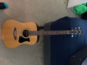 Ibanez V70- NT Acoustic Guitar with case for Sale in Falls Church, VA