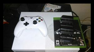 Xbox one s 500 gb all wires 3 games for Sale in Philadelphia, PA