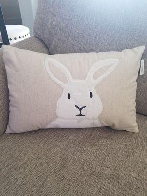 Threshhold bunny pillow for Sale in Colton, CA