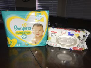 Pampers Diapers Bundle Size 2 for Sale in Mesa, AZ