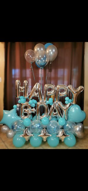 Happy birthday balloon bouquet ! for Sale in North Las Vegas, NV