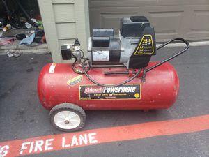 Craftsman Powermate 25 gallon 5hp air compressor for Sale in Foster City, CA