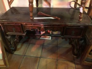 Antique desk 100 for Sale in Yonkers, NY