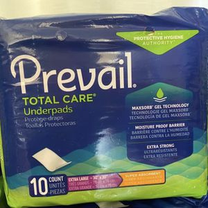 Prevail Underpads for Sale in Montclair, CA