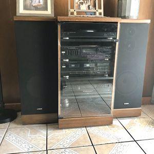 Fisher Stereo System for Sale in San Bernardino, CA