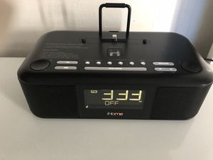 Ihome Alarm Clock for sale | Only 3 left at -65%