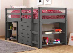 Twin size bed with desk and dresser for Sale in Phoenix, AZ