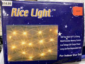 Rice lights $5 each for Sale in Leavenworth, WA
