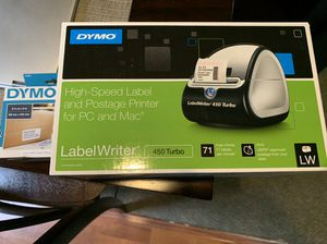 New never used dymo label writer 450 turbo w/300 labels for Sale in Pacifica, CA