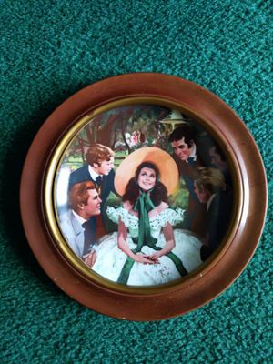 ⭐GONE WITH THE WIND PLATE/SCARLETT AND HER SUITORS ⭐ for Sale in Oklahoma City, OK