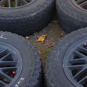 General Grabbers AT 2 Tires And Rims for Sale in Woodbridge, VA