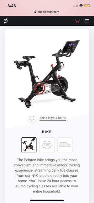 Peloton Bike - Save paying taxes and don't wait for delivery! for Sale in Renton, WA