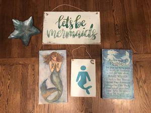 Mermaid decor set for Sale in Virginia Beach, VA