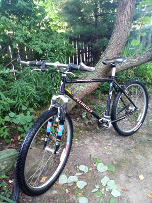 Specialized rockhopper 24 speed 19 inch frame 26 inch wheels. A retired police bike. for Sale in Independence, OH