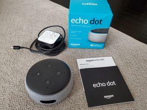 Amazon echo dot 3rd gen for Sale in Pico Rivera, CA