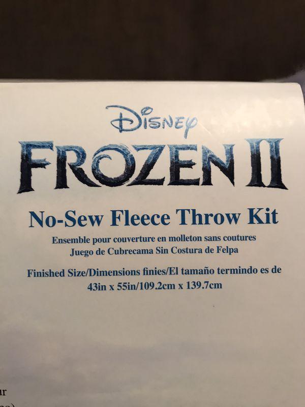 Disney's Frozen II Elsa No Sew Fleece Throw Kit