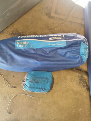 Therma rest sleeping pad and pillow for Sale in Phoenix, AZ