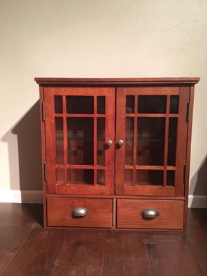 Wooden Wall Mounted Cabinet for Sale in Fort Worth, TX