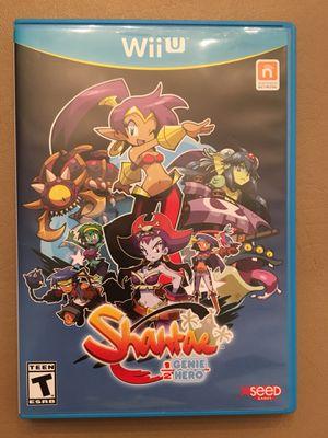 Nintendo Wii U: Shantae 1/2 Genie Hero for Sale in Elgin, IL