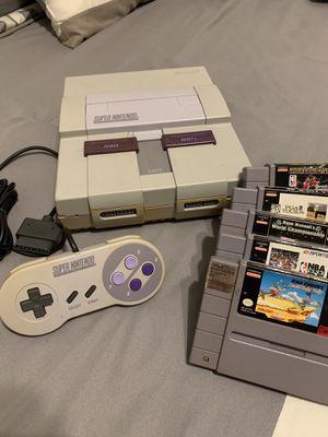 Super Nintendo SNES Bundle for Sale in Lake Mary, FL