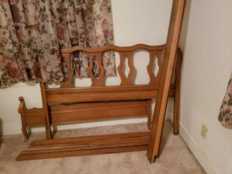 Vintage Double Bed Frame for Sale in Abilene,  TX