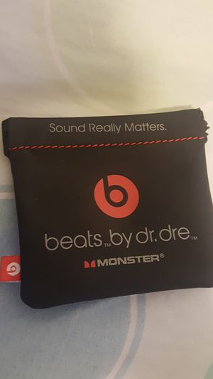 Beats By Dre Case *Monster for earbuds for Sale in Gilbert, AZ
