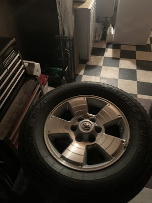 TRD sport rims and tires for Sale in Nipomo, CA
