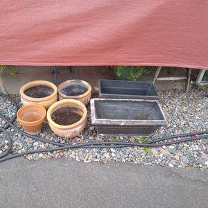 Flower Pots All For 8.Dallars for Sale in Chandler, AZ