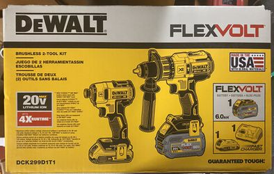 Dewalt Flexvolt Combo Tool Kit for Sale in Kansas City, MO