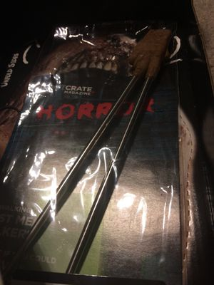 Freddy Krueger glove chopsticks for Sale in Vancouver, WA